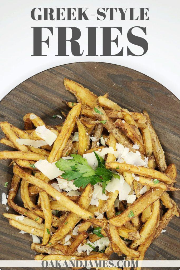 homemade greek fries recipe