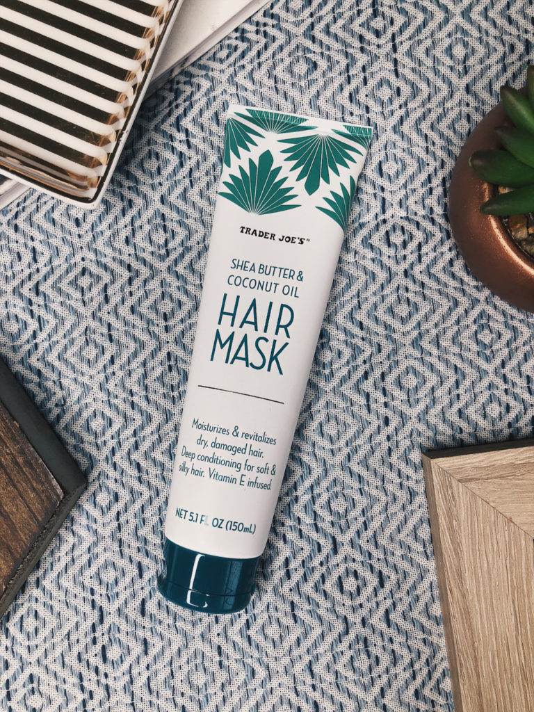 product review trader joes shea butter hair mask
