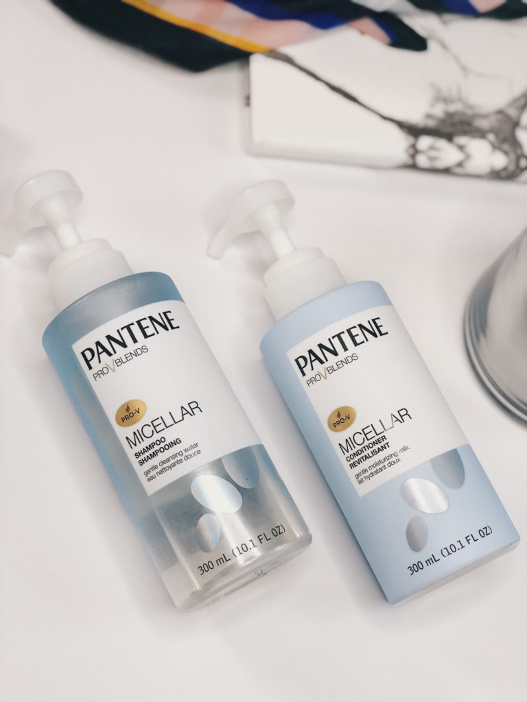 pantene micellar shampoo and conditioner product review