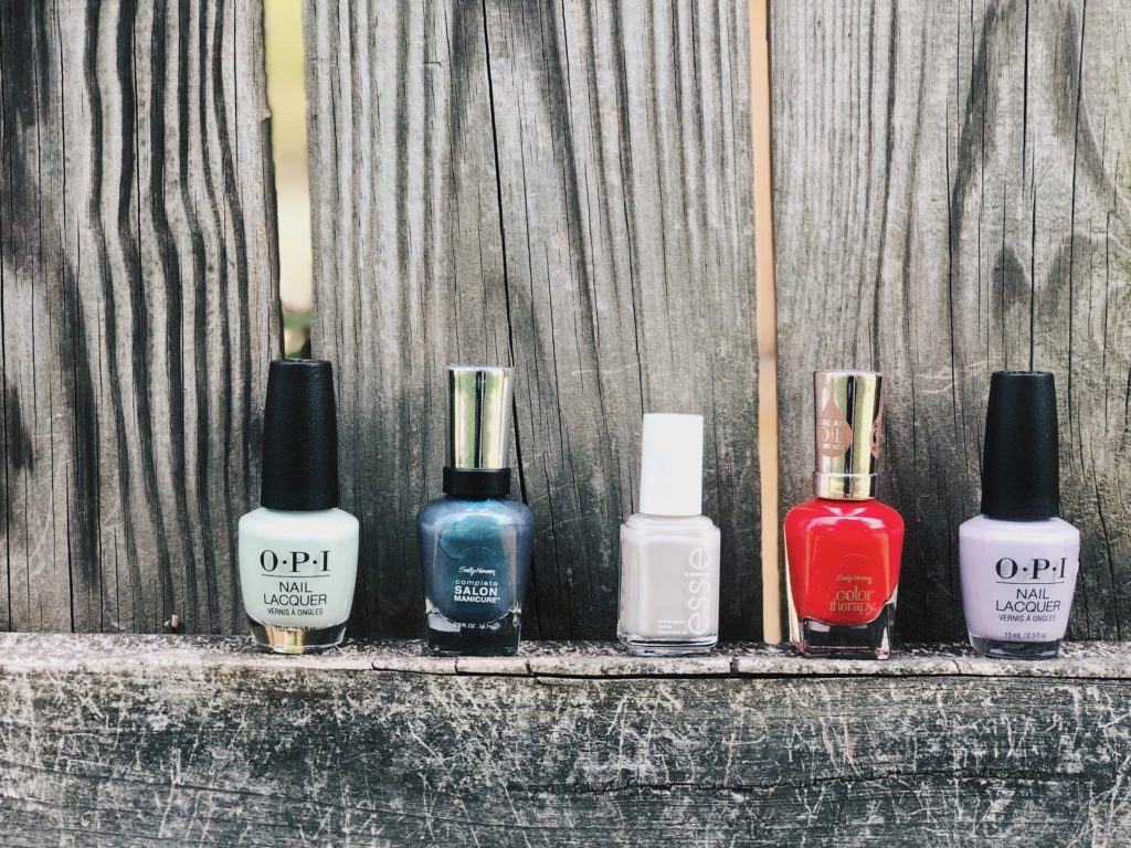 top nail colors for summer