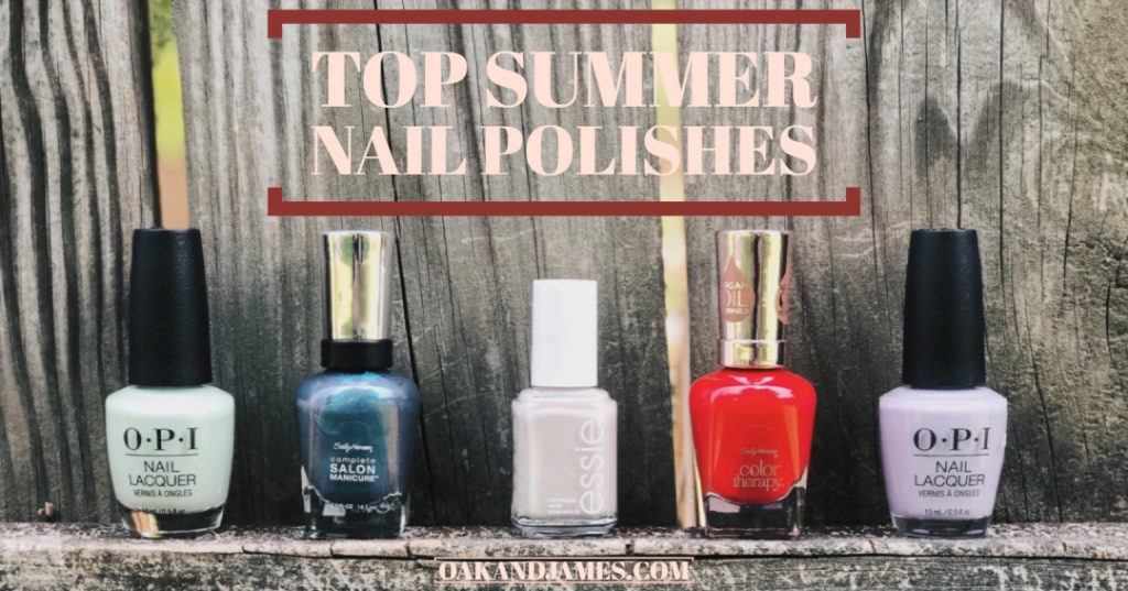 top summer nail polishes colors