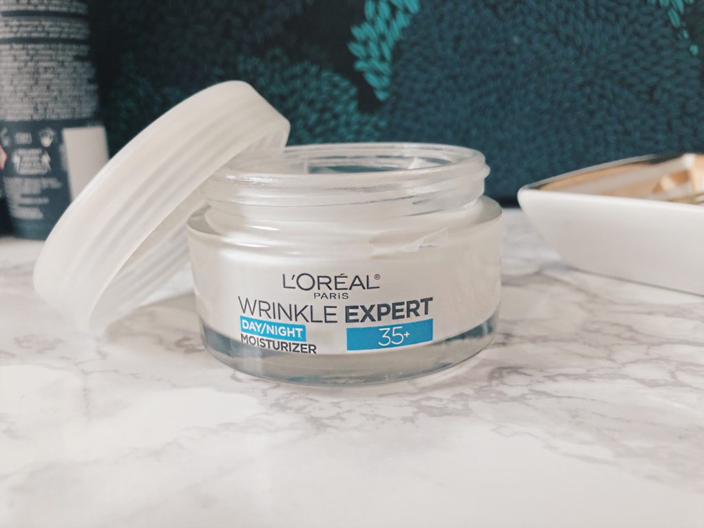 L'oreal Wrinkle expert moisturizer product review