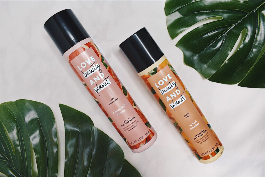 love beauty and planet dry shampoo product review