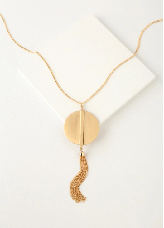 tassel pendant necklace fall 2018 accessory trends