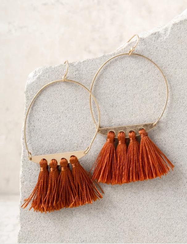 tassel earrings fall 2018 accessory trends