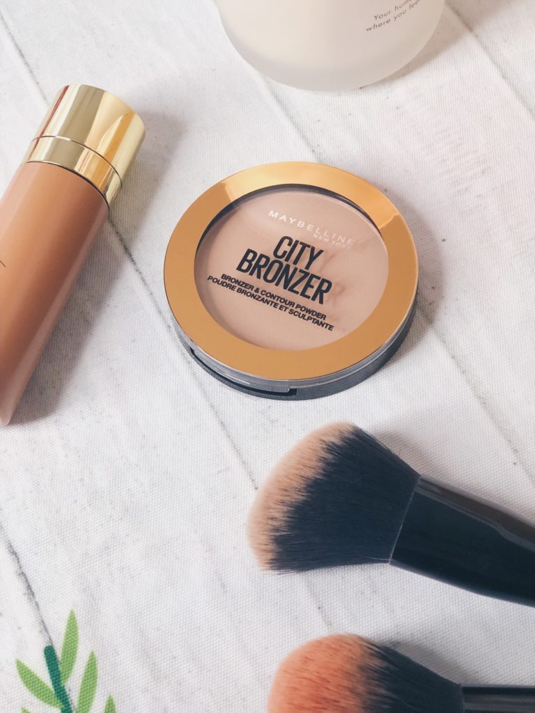 New drugstore beauty Maybelline city bronzer product review
