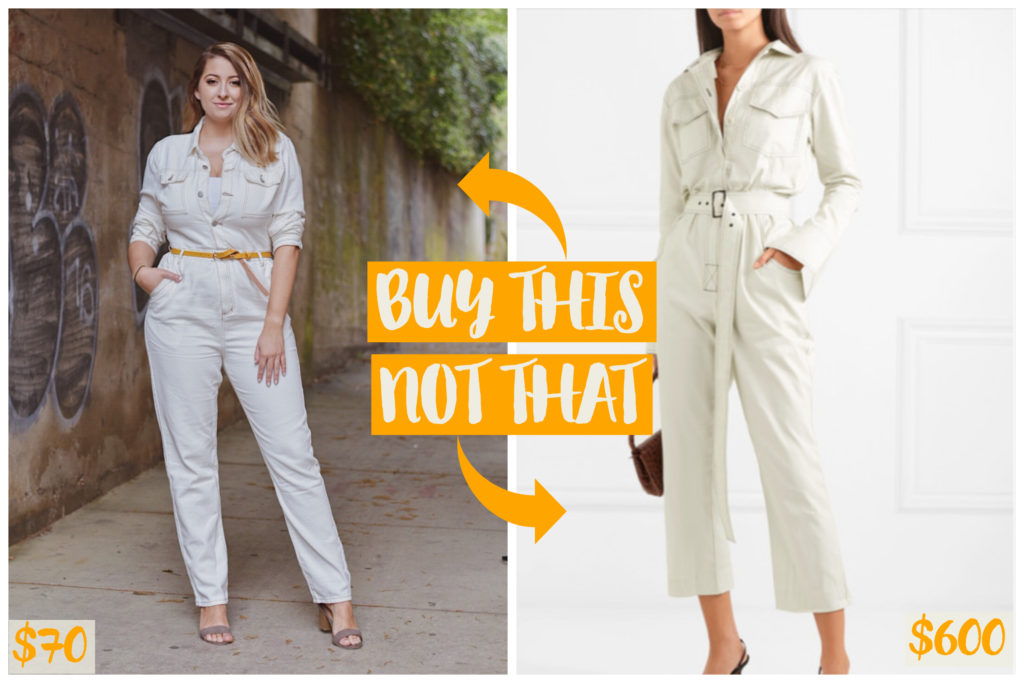 buy this not that affordable spring fashion white denim jumpsuit