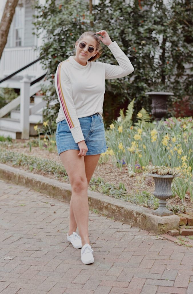ootd outfit of the day retro spring outfit
